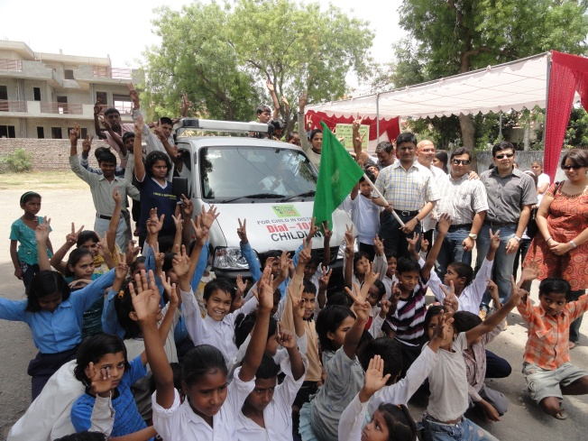 INAGURATION OF THE CHILDLINE VEHICLE